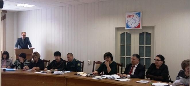 Состоялось расширенное заседание Воронежского областного комитета Профсоюза работников госучреждений и общественного обслуживания